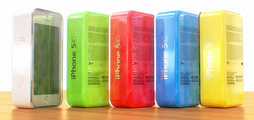 New plastic iPhone available in multiple colors