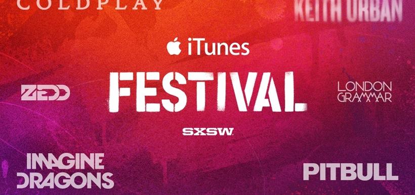 Apple bringing iTunes Festival to SXSW