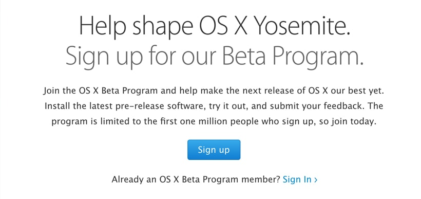 Apple releases second OS X Yosemite public beta