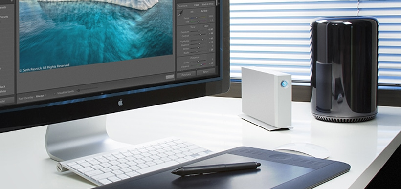 Best LaCie Thunderbolt 2 external hard drives for Mac Professionals