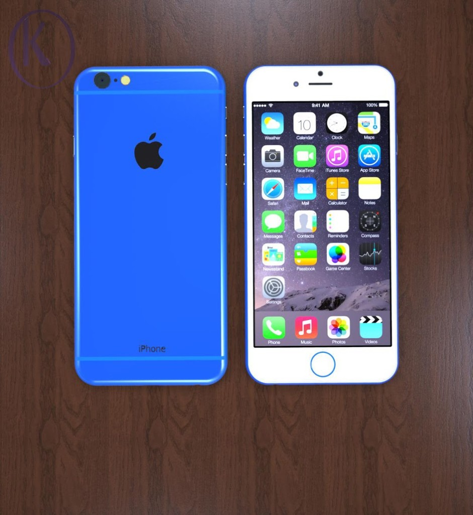 Blue iPhone 6c