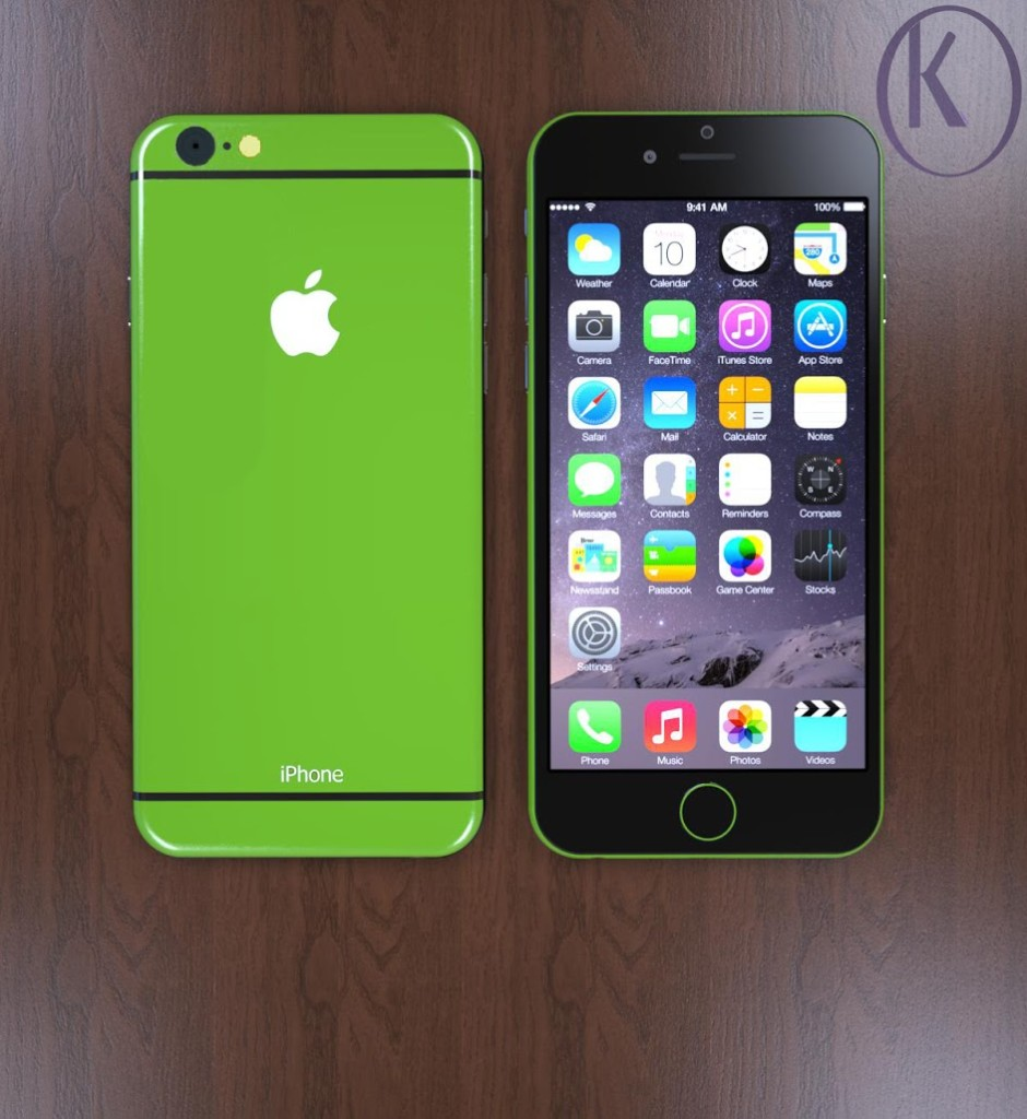 Green iPhone 6c
