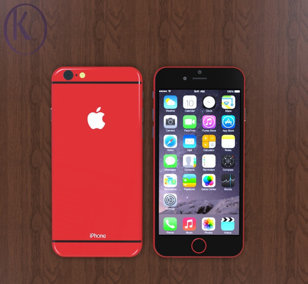 Red iPhone 6c