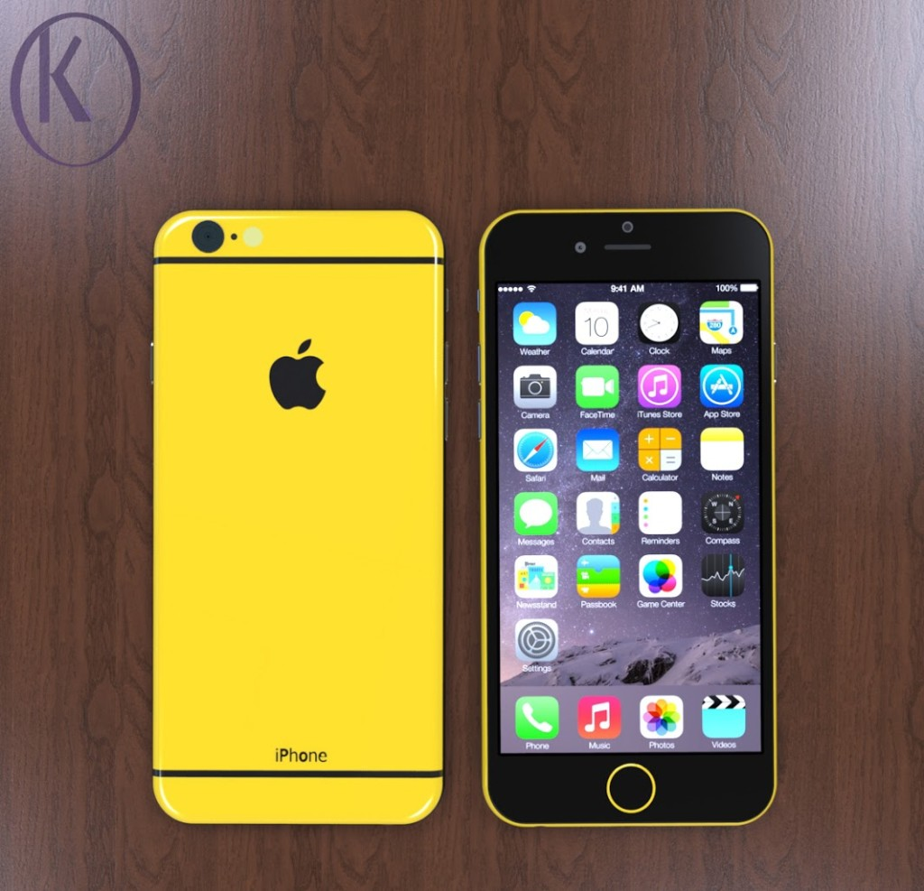 Yellow iPhone 6c