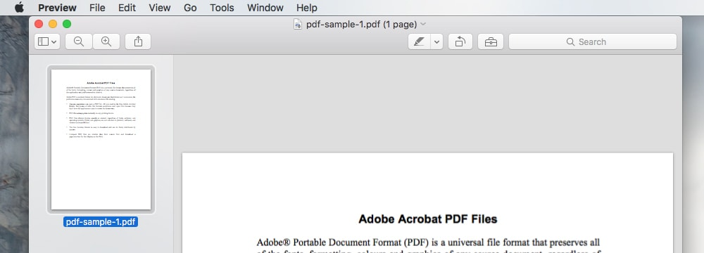How to combine PDF file on macOS