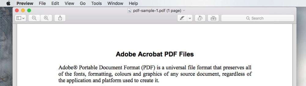 How to merge pdf files on a Mac