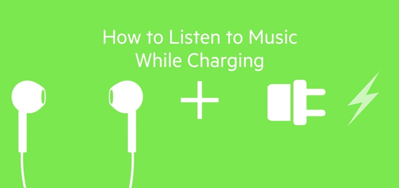 How to charge iPhone 7 and listen to music at the same time