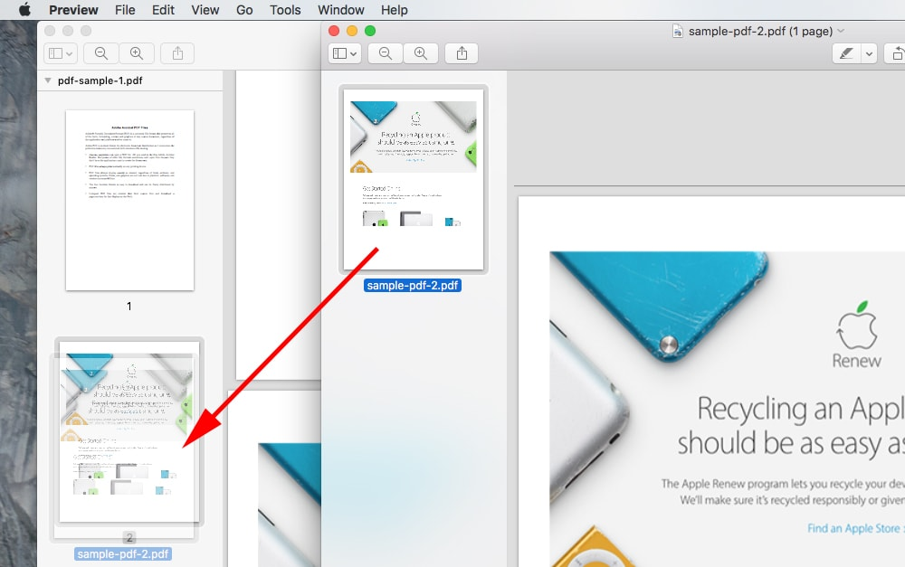 pdf merge mac
